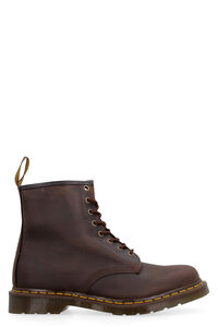 1460 leather combat boots, Lace-up boots Dr. Martens man