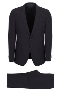 Wool blend two-piece suit, Suits BOSS man