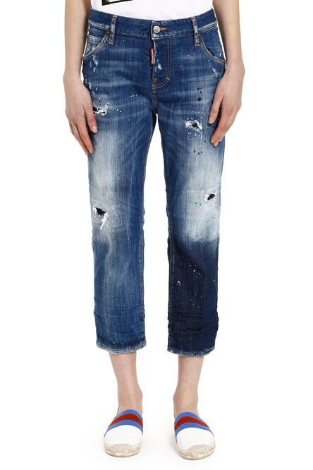 'Cool girl' cropped jeans, Cropped Jeans Dsquared2 woman