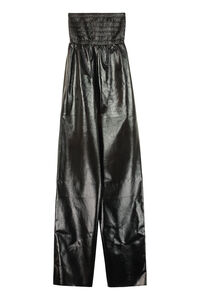 Leather jumpsuit, Full Length jumpsuits Bottega Veneta woman
