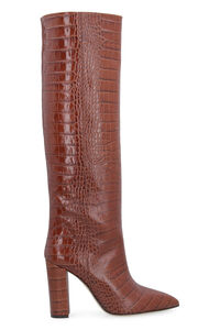 Leather knee-high boots, Knee-high Boots Paris Texas woman