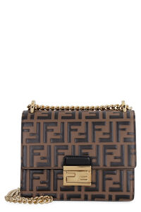 Kan U crossbody leather bag, Shoulderbag Fendi woman