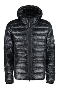 Crofton hooded down jacket, Down jackets Canada Goose man