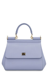 Sicily small leather handbag, Top handle Dolce & Gabbana woman