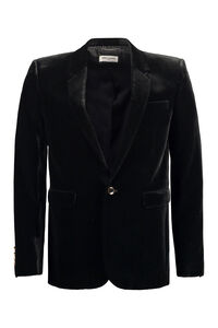 Blazer in velluto a coste, Monopetto Saint Laurent man