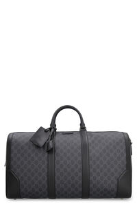 GG supreme fabric Duffle travel bag, Luggage & travel Gucci man