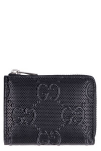 Micro leather wallet, Wallets Gucci man