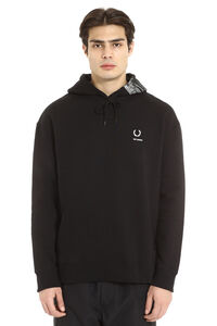 Raf Simons x Fred Perry - Oversize cotton hoodie, Hoodies Fred Perry man