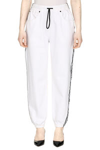 Side logo stripe track-pants, Track Pants Alexander Wang woman