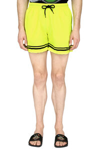 Logo print swim shorts, Swimwear GCDS man