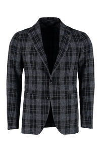 Single-breasted jacket with two buttons