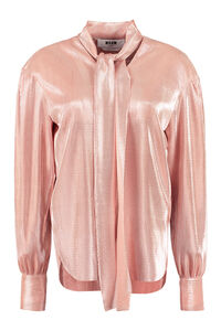 Pleated blouse, Blouses MSGM woman