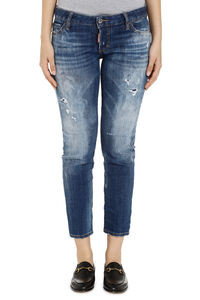 Cropped jeans Jennifer, Jeans skinny Dsquared2 woman