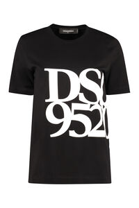 Logo cotton t-shirt, T-shirts Dsquared2 woman