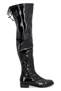 Lowland vinyl boots, Over-the-knee Boots Stuart Weitzman woman