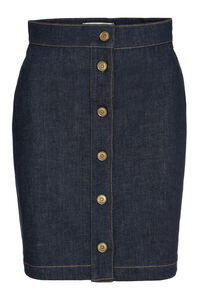 Fendi Roma Joshua Vides denim skirt, Denim Skirts Fendi woman