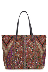 Jacquard fabric tote, Tote bags Etro woman