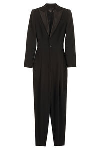 Viscose jumpsuit, Full Length jumpsuits Dsquared2 woman