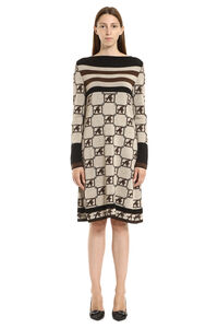 Virgin wool dress, Mini dresses Alberta Ferretti woman