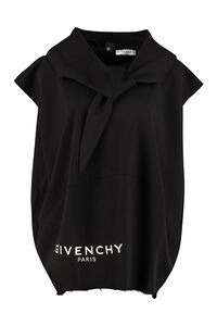 Sleeveless cotton sweatshirt, Hoodies Givenchy woman