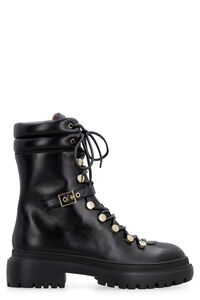 Leather lace-up boots, Ankle Boots L'Autre Chose woman
