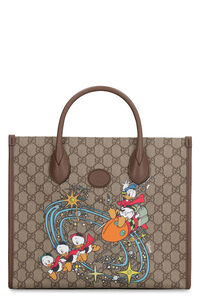 GG supreme fabric tote bag - Donald Duck Disney x Gucci, Totes Gucci man