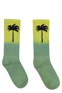 Cotton sport socks, Socks Palm Angels man