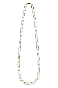 Long Bolt gold-tone metal necklace, Necklaces Federica Tosi woman