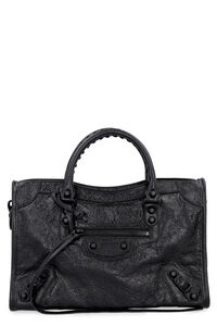Classic City leather bag, Top handle Balenciaga woman