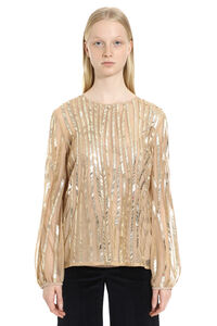Girl embroidered blouse, Blouses Max Mara Studio woman