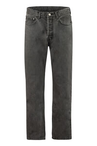 5-pocket straight-leg jeans, Straight jeans AMBUSH man