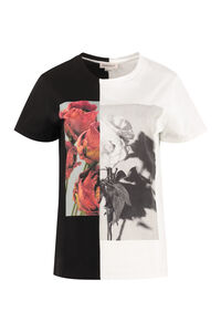 Printed cotton t-shirt, T-shirts Alexander McQueen woman