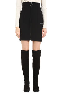 Stretch pencil skirt with zip, Pencil skirts Off-White woman