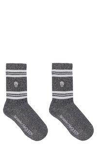 Cotton sport socks, Socks Alexander McQueen woman