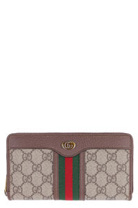 Ophidia continental wallet with logo, Wallets Gucci man