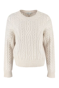 Cable knit pullover, Crew neck sweaters Vince woman