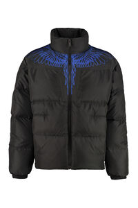 Full zip padded jacket, Down jackets Marcelo Burlon County of Milan man