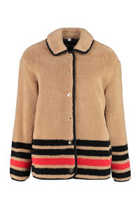 Fleece jacket, Faux Fur and Shearling Burberry woman