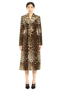 Velvet double-breasted coat, Double Breasted Dolce & Gabbana woman