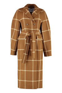 Dalia checked print coat, Double Breasted Rodebjer woman