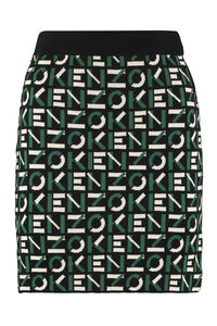 Jacquard knit skirt, Mini skirts Kenzo woman