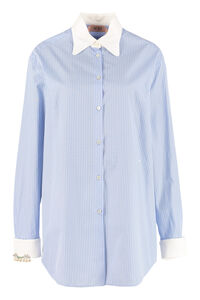 Striped cotton shirt, Shirts N°21 woman