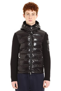Cardigan in maglia tricot, Cardigan Moncler man