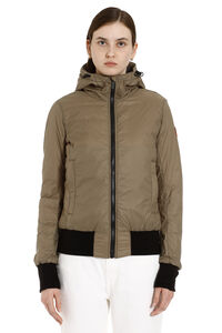 Dore hooded ultra-light down jacket, Down Jackets Canada Goose woman
