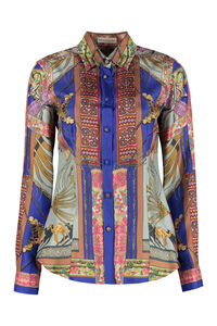 Printed silk shirt, Shirts Etro woman