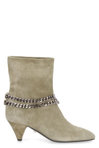 Futura suede ankle boots, Ankle Boots Alevì woman