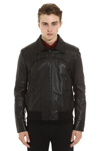 Lambskin jacket, Leather jackets Saint Laurent man