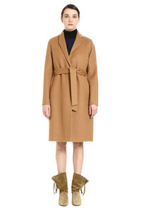 Wool and mohair coat, Knee Lenght Coats Fabiana Filippi woman