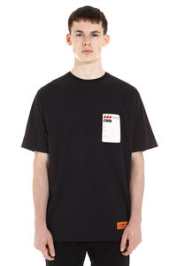 Logo print cotton t-shirt, Short sleeve t-shirts Heron Preston man