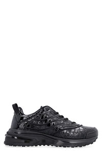 GIV 1 printed leather sneakers, Low Top Sneakers Givenchy man